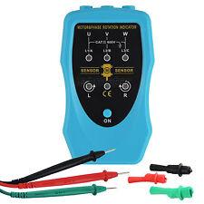 3 Phase Rotation Indicator & Motor Direction Meter Tester 120~460VAC Generic