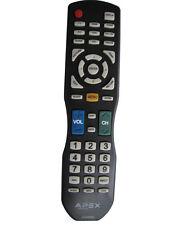 NEW APEX LD200RM REMOTE FOR LD3249 LD3288T LD3288M LD4077 LE4077M  APEX TV