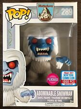 Funko Pop Flocked Abominable Snowman NYCC New York Comic Con Exclusive LE 1000