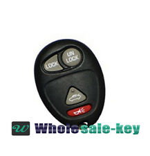 2001-2005 Buick Century Replacement Key Keyless Entry Remote Car Control Alarm