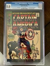 Captain America #100 CGC 5.0, Marvel Comics, 1st Issue, Black Panther