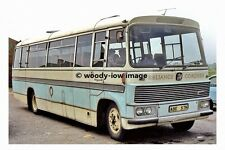pt8015 - Reliance Coaches Vega 31 Coach at Stainforth Depot - photograph 6x4