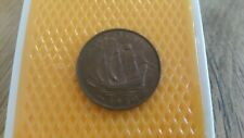 Great Britain 1950 half penny - King George VI coin.