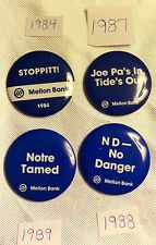 Penn State Bank Buttons - Many to choose from - $7.00 each