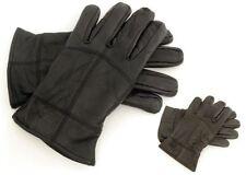 Gants et moufles noirs en cuir, taille L pour homme