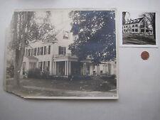 antique Dartmouth College Theta Chi fraternity ? HANOVER NH PHOTO vtg Carlisle