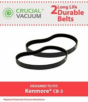 2 Replacements Kenmore / Powermate Canister VacuumsCB-3 CB3 Belts Part # 20-5218