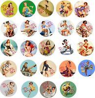 Mega Pin Up Girls 22 Stickers Hot Rat Rod Vintage Classic Car Decals Sexy Retro