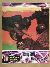 Albany State Alabama State COLLEGE FOOTBALL PROGRAM - 1973 - EX