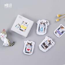 CuteTank Cat Paper Masking Sticker Diary Scrapbook Deco DIY Craft Gift Wrap Tag