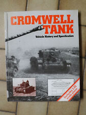 """Cromwell Tank-Vehicle History & Specification"" - Paperback Book, 2006- FREE P&P"