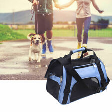 Pet Carrier Soft Sided Cat Dog Comfort Travel Tote Bag Airline Approved Carry US