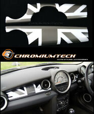 MINI Cooper/S/ONE R55 R56 R57 R58 R59 BLACK Union Jack Dashboard Panel Cover LHD