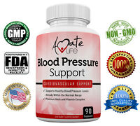 Blood Pressure Capsules - Supports Cardiovascular Health - 90 Caps by Amate Life
