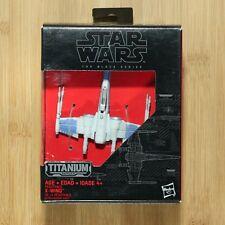 Star Wars The Black Series Titanium Series #02 Resistance X-Wing Diecast Vehicle