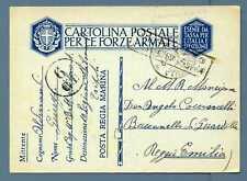 LEGIONE TRIPOLI - 1941 - Cartolina Postale per le Forze Armate - Reggio Emilia