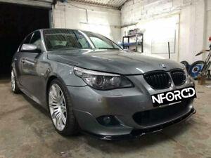 BMW 5 Series E60 E61 M-Sport Front Lip Splitter - Front Splitter