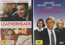 Leatherheads + Legal Eagles DVD 2-MOVIES BRAND NEW SEALED COMEDY ROMANCE R4