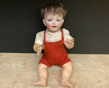 "Antique 14"" Kestner Character Baby Bisque Doll 152 / 5 - Made in Germany"