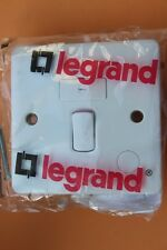 legrand 7300 36 13A Fused Connection Unit DP with switch + cord outlet white