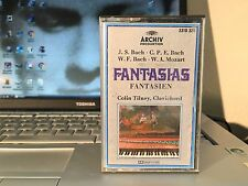 J. S. - C.P.E. - W.F. BACH - MOZART FANTASIA  - Cassette Germany 1976  TESTED