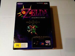 Nintendo 3DS Game-Zelda Majora's Mask 3D Special Edition - Lot 2 - BRAND NEW
