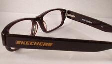 SKECHERS 3016 BROWN WOMEN MEN Eyeglass Eyewear Frames Glasses DESIGNER NEW