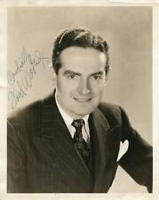 FRED WARING BIG BAND ORCHESTRA LEADER SIGNED VINTAGE PHOTO AUTOGRAPH