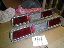 67 1967 CHEVROLET IMPALA BEL AIR CAPRICE BISCAYNE TAIL LIGHTS SET LIGHT PAIR R L