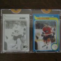 Pair 1979-80 Topps Vault TOM GORENCE 51 ROOKIE NHL Hockey Proof Cards COA Rare