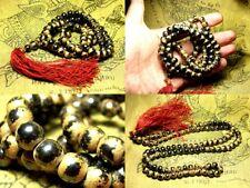 Thai Amulet Necklace Leklai Praying Bead,Wat Phra Kaew,old magnetic very holy