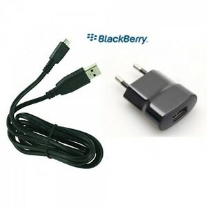 BlackBerry Universal EUROPEAN 2 Pin Mains Travel Charger & Micro USB Cable