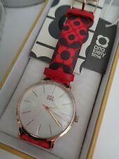 BNWT Orla Kiely Ladies Red Flower Strap Watch OK2268