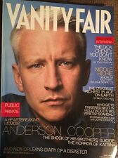 Vanity Fair June 06 Anderson Cooper Dick Cheney Nicole Richie Hurricane Katrina
