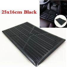 1Pcs Universal Black PVC Car Floor Carpet Mat Patch Foot Heel Plate Pedal Pad