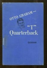 Otto Graham Signed Book T Quarterback Autographed Cleveland Browns 63292