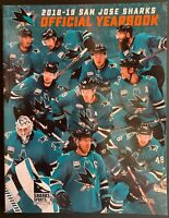 2018-2019 SAN JOSE SHARKS YEARBOOK ALL STAR GAME STANLEY CUP CHAMPS NHL HOCKEY
