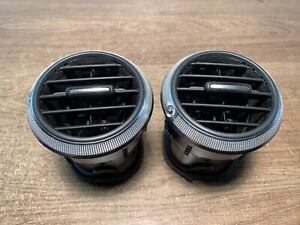 2008 AUDI A3 8P FACELIFT FRONT DASHBOARD DRIVER SIDE AIR VENT X 2 PAIR   •21.1.2