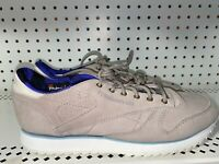 Reebok Classic Leather Outdoor Womens Athletic Shoes Sneakers Size 9 Gray