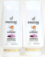 2 Bottles Pantene Pro V 24 Oz Sheer Volume Lift & Control DreamCare Conditioner