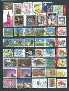 1) BELGIUM : COLLECTION ALBUM COMPLET SETS RECENT USED STAMPS IN EURO - THEMATIC