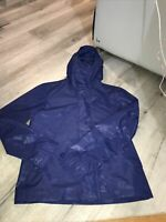 Woolrich Mens  Camou Blue Rudder Jacket with hood Size M BNWOT