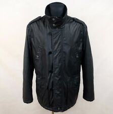 TIGER OF SWEDEN BLACK JACKET WET LOOK TOBAR size EU-54 UK -44