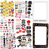 Photo Booth Props Selfie Photography Wedding Birthday Party Moustache Fun Decor