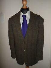 "M&S Mens HARRIS TWEED Shooting Jacket Blazer Sports Coat SIZE 42R - 42"" Regular"