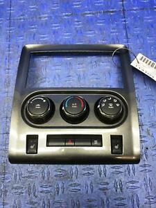 2010 DODGE CHALLENGER SRT8 FRONT A/C CLIMATE CONTROL PANEL W/ HEAT SEAT SWITCH