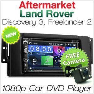 "7"" Land Rover Discovery 3 Freelander 2 Car DVD Player USB MP3 Stereo Radio CD KT"