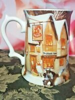 1990 CARLING O'KEEFE BEER STEIN 1st & LIMIT EDITION FINE BONE CHINA SUNRISE