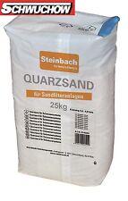 Quarzfiltersand 25 kg Steinbach Pool Sandfilter Quarzsand Filtersand 0,4-0,8 mm