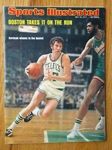 JOHN HAVLICEK Sports Illustrated May 20, 1974 Magazine No Label BOSTON CELTICS